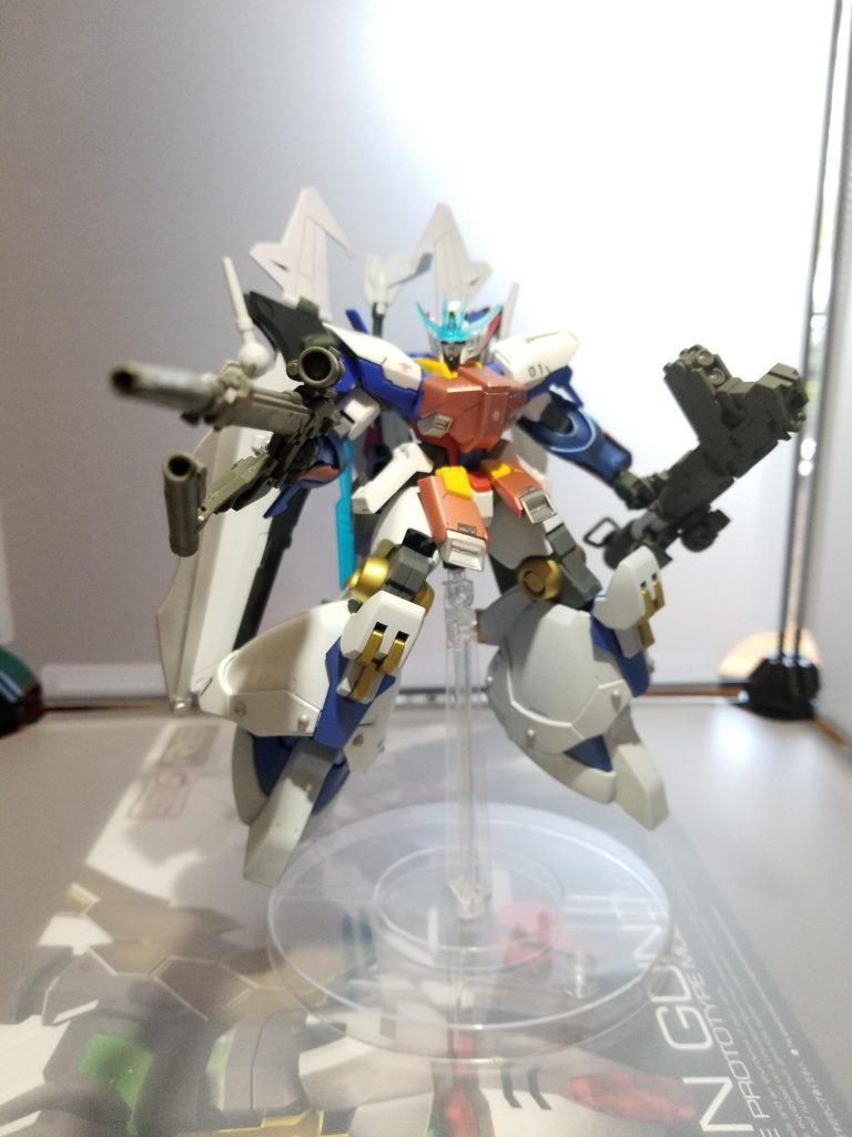 ガンダムAGE-1 ToyiaS (トイアス) アピールショット4