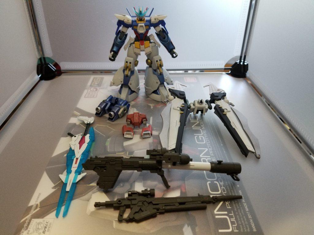 ガンダムAGE-1 ToyiaS (トイアス) アピールショット1