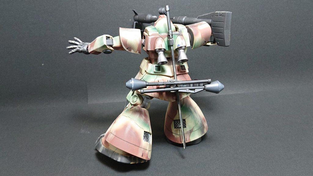 MS-09 DOM【invasion of Jaburo】ドム ジャブロー侵攻タイプ 制作工程1