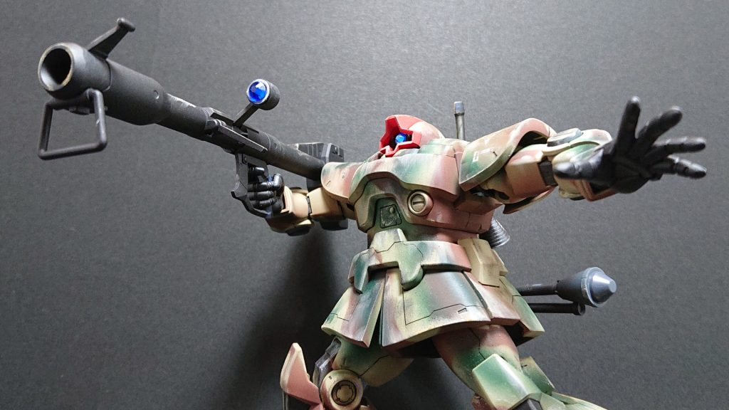 MS-09 DOM【invasion of Jaburo】ドム ジャブロー侵攻タイプ 制作工程4