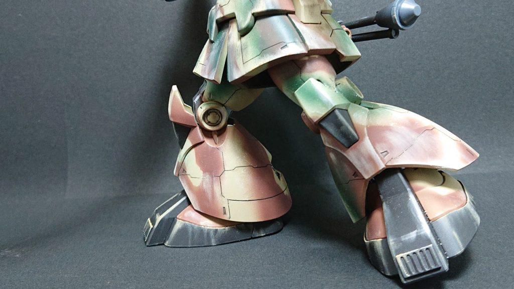 MS-09 DOM【invasion of Jaburo】ドム ジャブロー侵攻タイプ 制作工程5
