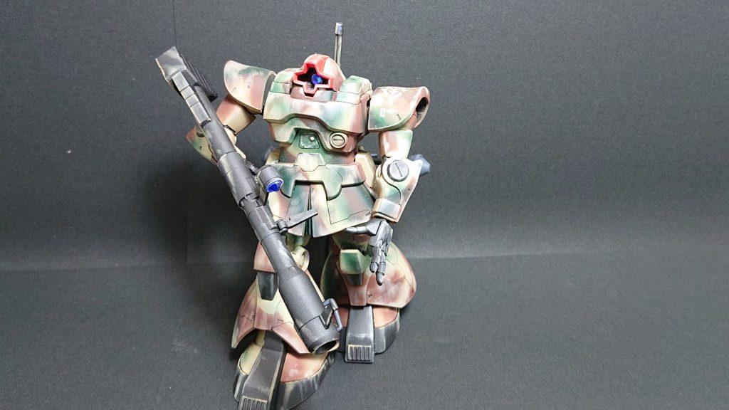 MS-09 DOM【invasion of Jaburo】ドム ジャブロー侵攻タイプ 制作工程6