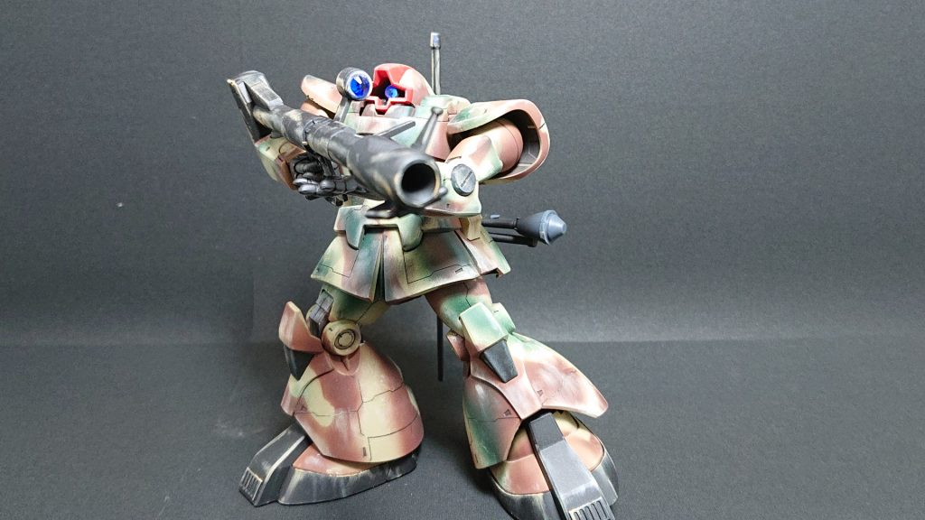 MS-09 DOM【invasion of Jaburo】ドム ジャブロー侵攻タイプ 制作工程7