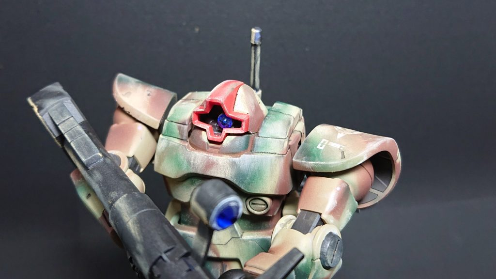 MS-09 DOM【invasion of Jaburo】ドム ジャブロー侵攻タイプ 制作工程8