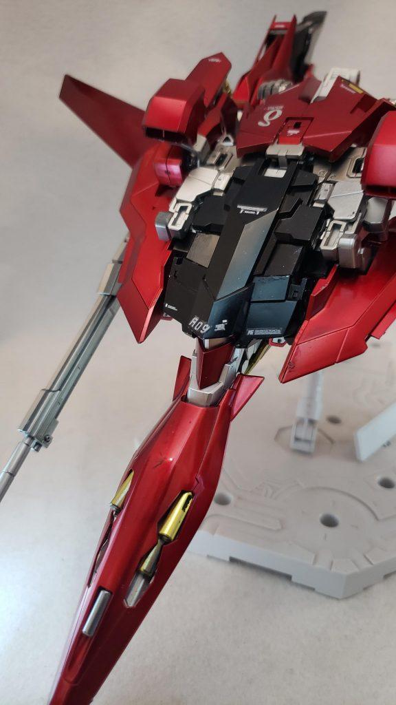MG レッドデルタ(ライトニング機) 制作工程4