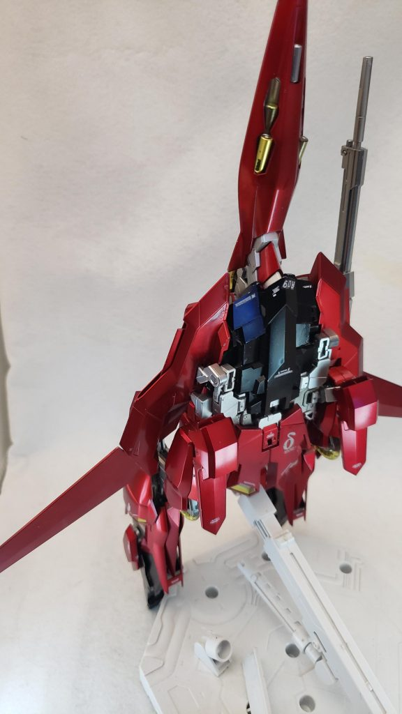 MG レッドデルタ(ライトニング機) 制作工程3