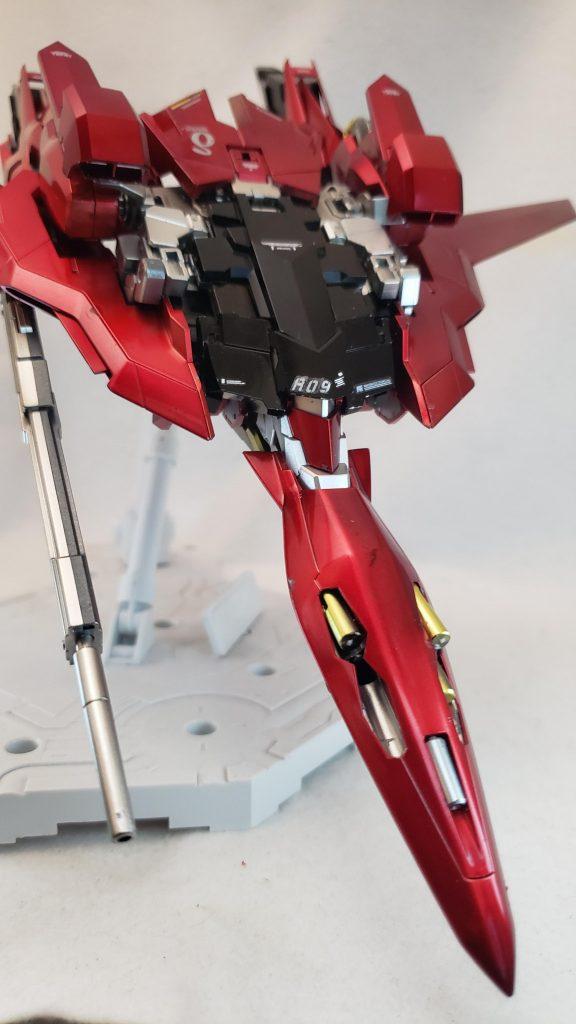MG レッドデルタ(ライトニング機) 制作工程2