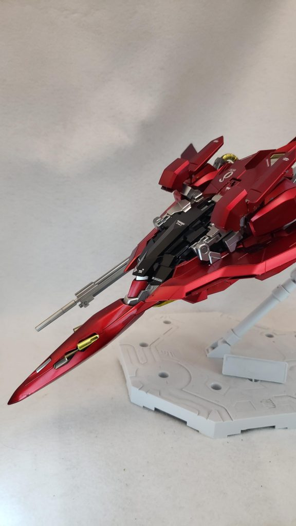 MG レッドデルタ(ライトニング機) 制作工程1