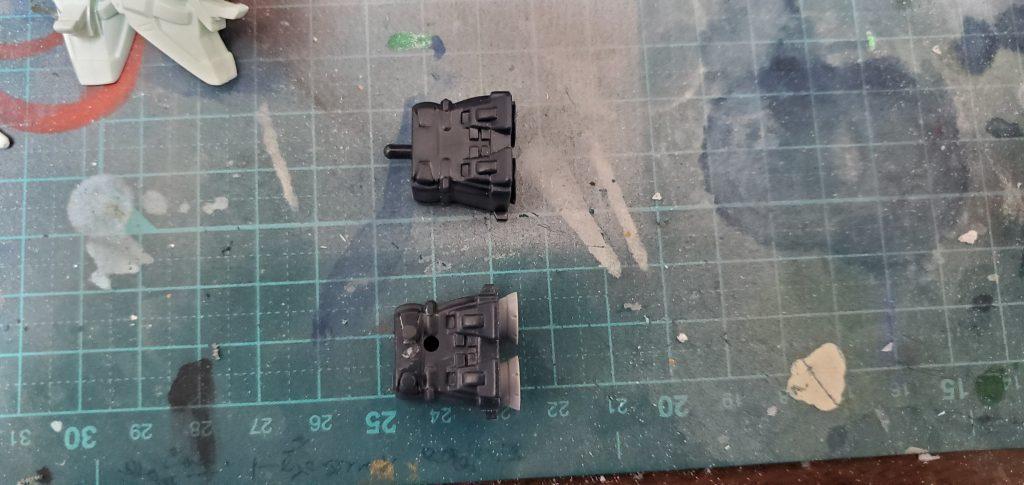 BB戦士 Ex-Sガンダム 制作工程7