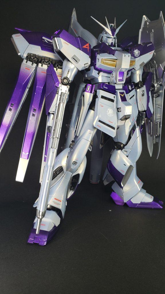 MG Hi-νガンダム(&HWS装備) アピールショット1