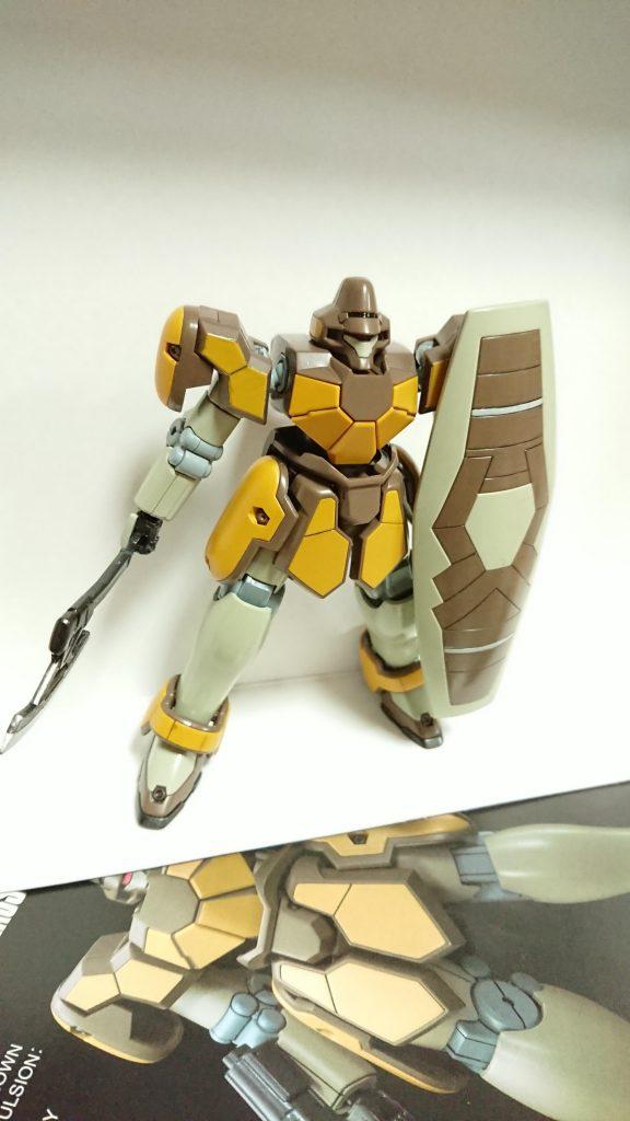 【HG】マグアナック 制作工程5