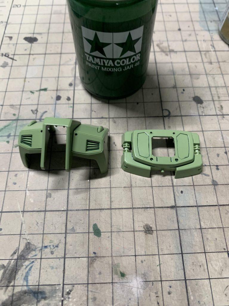 ジェガンD型 制作工程4