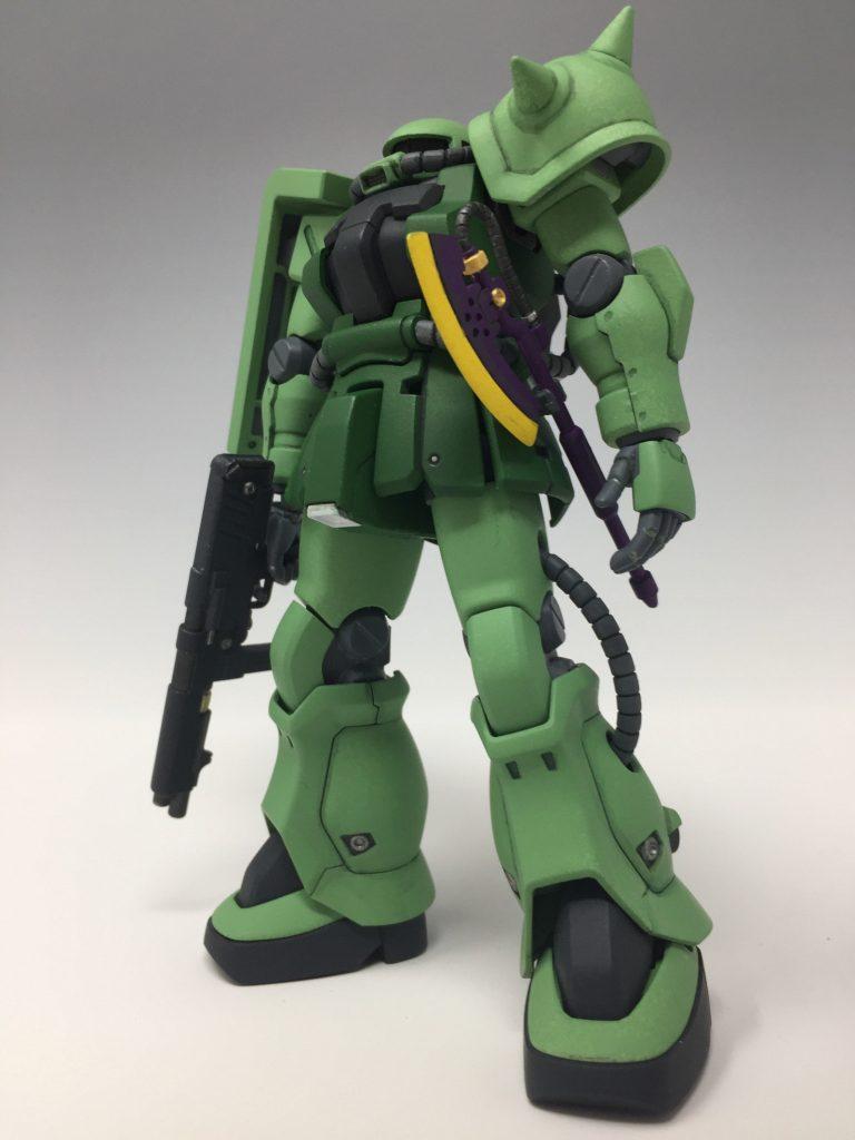 HGUC ザクII F2 ジオン軍仕様 アピールショット1