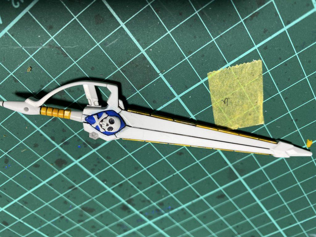クロスボーンガンダムX3 制作工程3