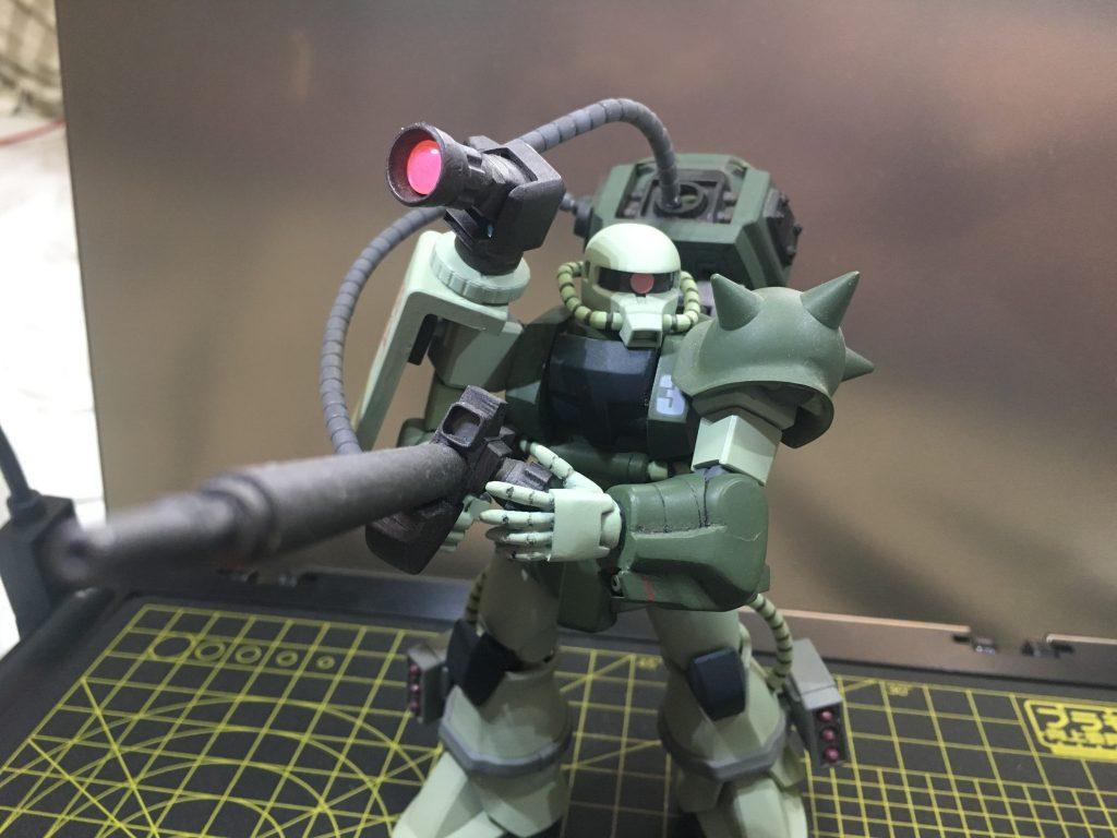 ザク現地改修狙撃型 アピールショット4