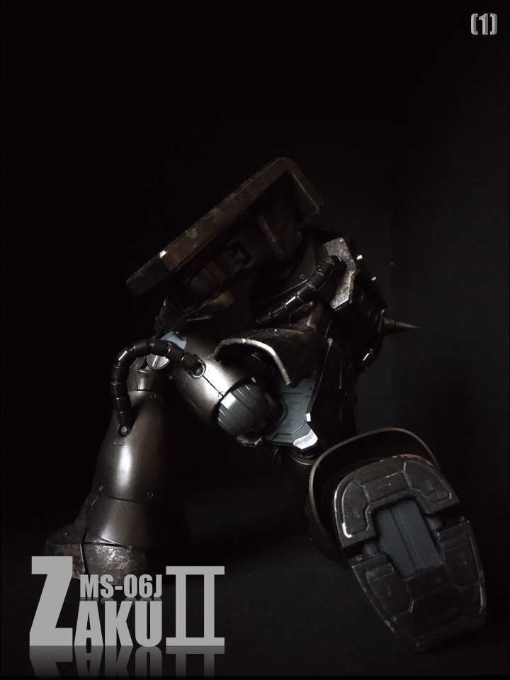 MS-06J ZAKUII No1 アピールショット1