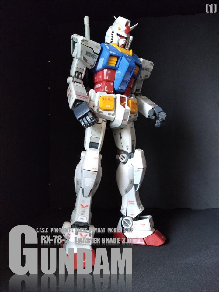 RX-78-2 GUMDAM MASTER GRADE 3.0 No1 アピールショット2