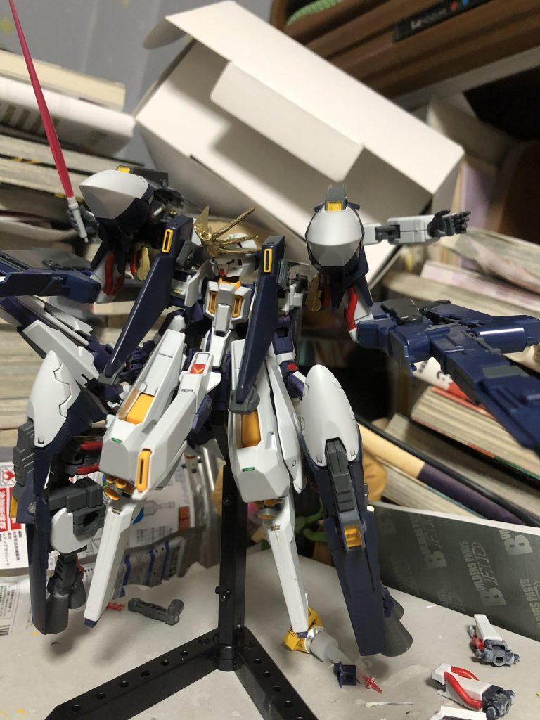 【初投稿】TR-6 [ウーンドウォート・ラー/現地改修仕様] 制作工程3