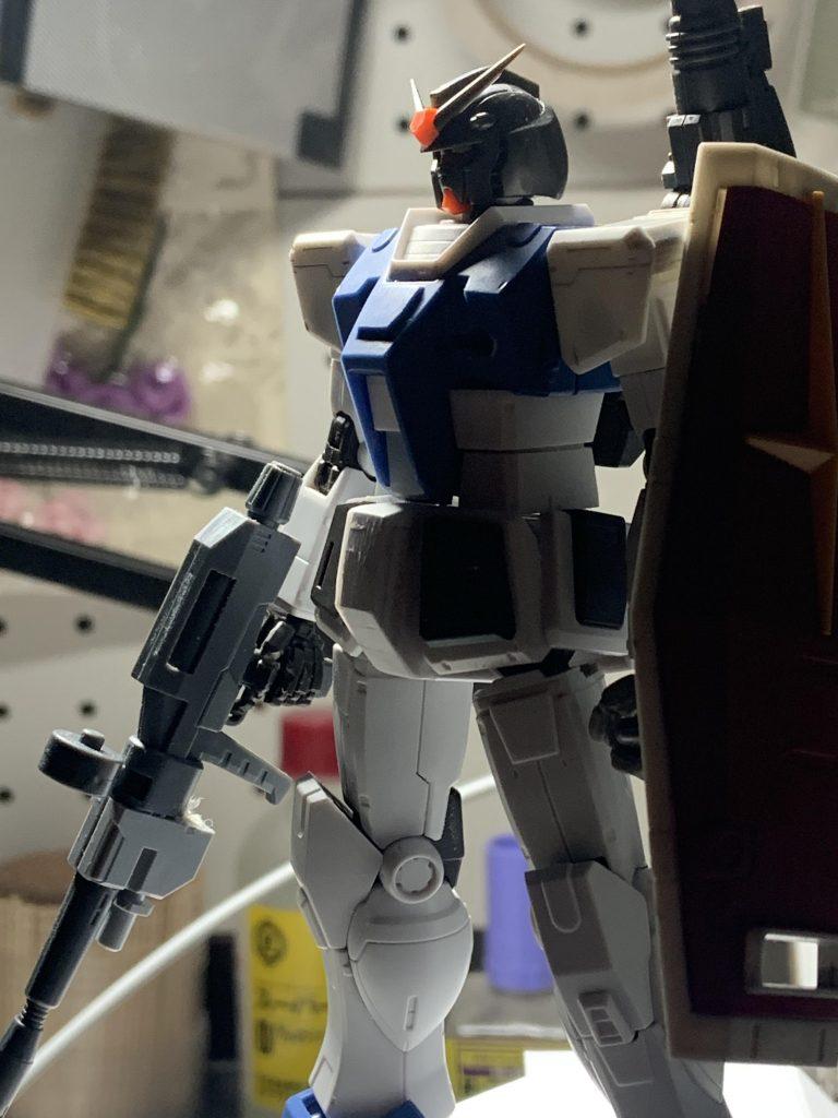 RX78-1-c1 ガンダム1号機改 制作工程3
