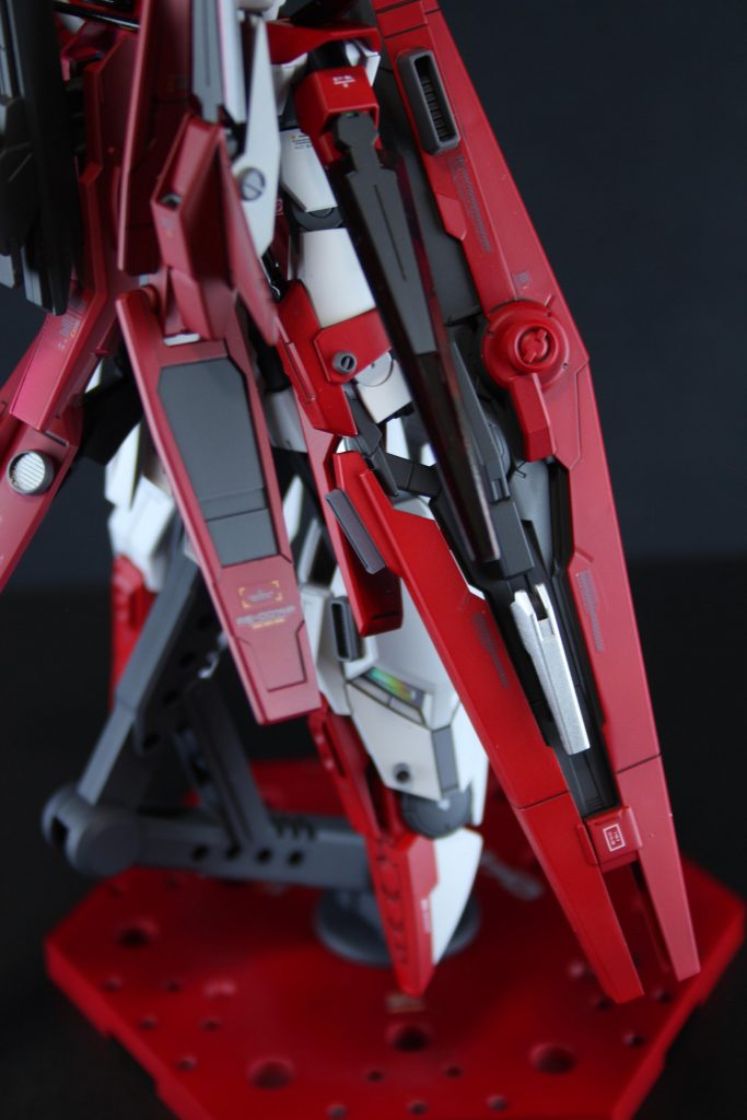 HG ガンダムAGE-FXオービタル 制作工程2