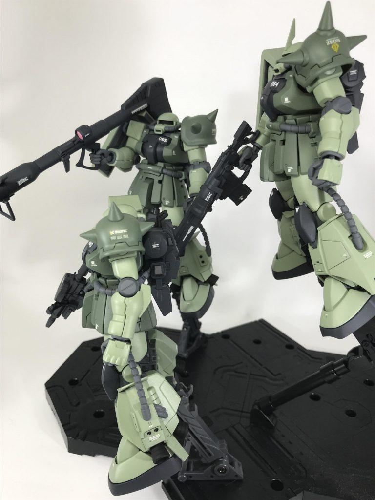 高機動型ザクⅡ アピールショット2