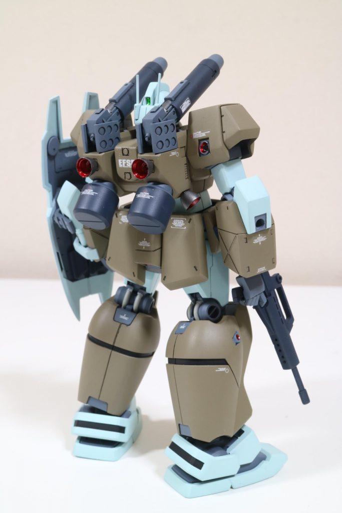 hguc125 ジムキャノンⅡ アピールショット2