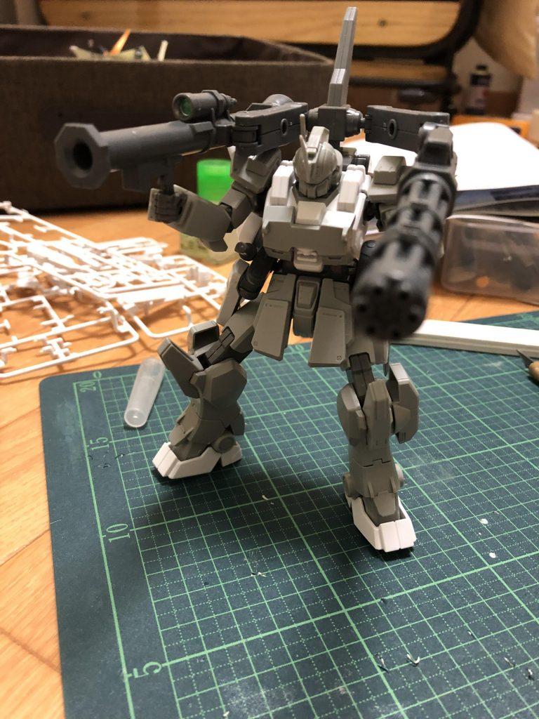 陸戦型ガンダム改「ビトレイヤー」 制作工程2