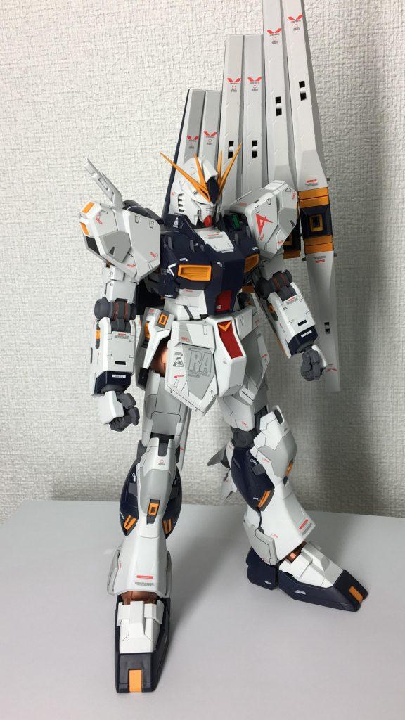 MG νガンダム アピールショット1