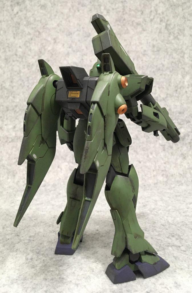 RE1/100 ガンブラスター アピールショット1