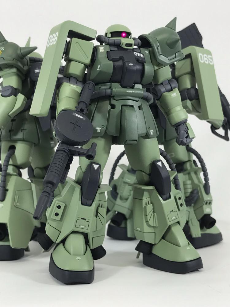 高機動型ザクⅡ アピールショット6