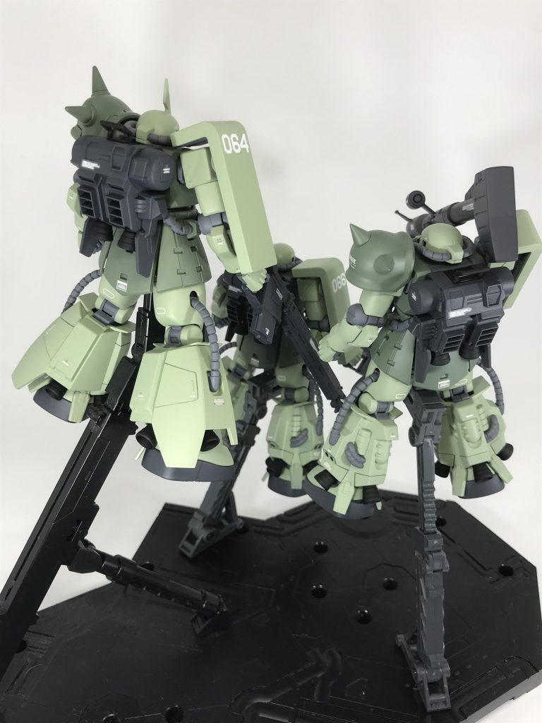 高機動型ザクⅡ アピールショット4