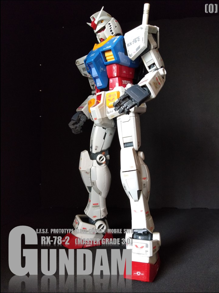 RX-78-2 GUMDAM MASTER GRADE 3.0 No1 アピールショット1