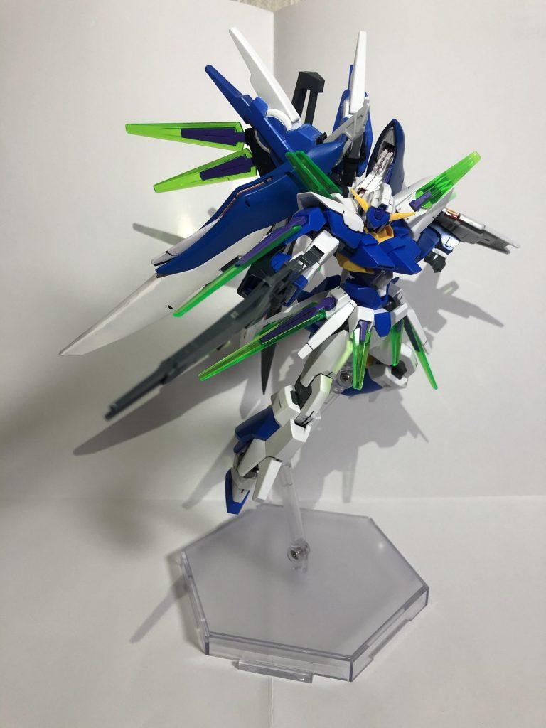 ガンダムAGE-FXメビウス アピールショット2