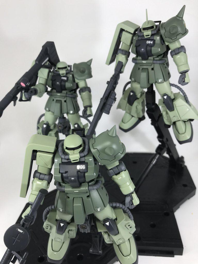 高機動型ザクⅡ アピールショット1