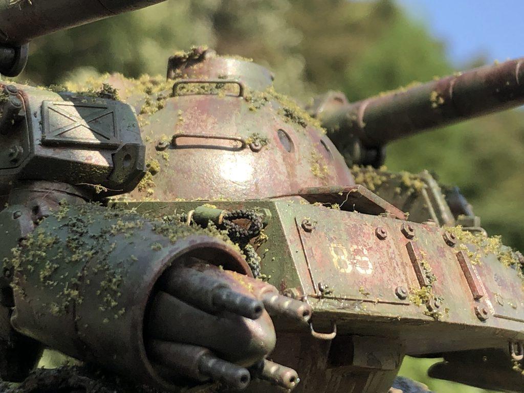 86式対MS特殊戦車 ジオラマ -postwar- アピールショット5