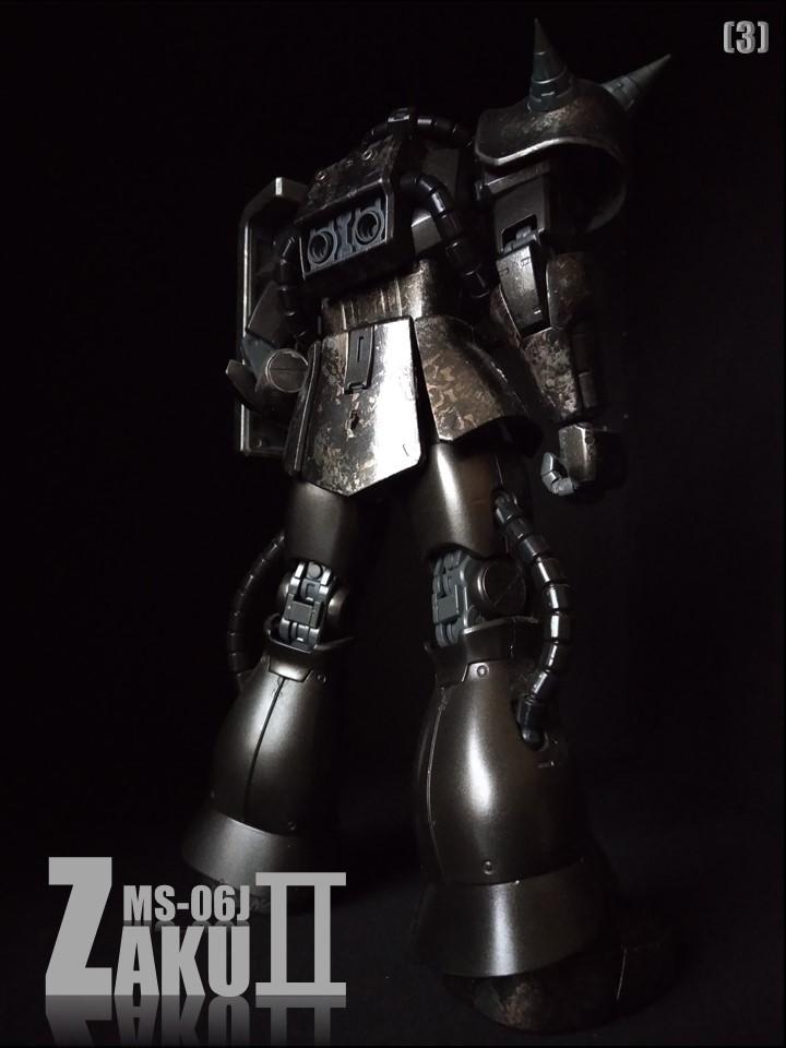 MS-06J ZAKUII No1 アピールショット3