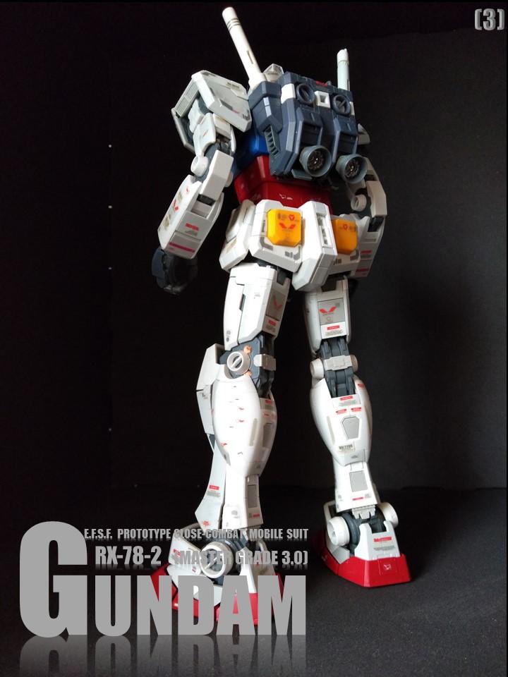 RX-78-2 GUMDAM MASTER GRADE 3.0 No1 アピールショット4