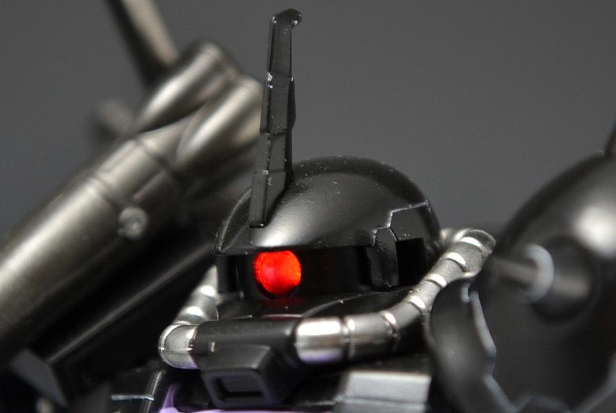 HGUC 黒い三連星ザクⅡ 制作工程2