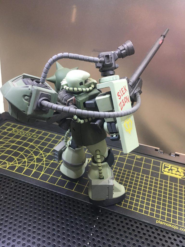 ザク現地改修狙撃型 アピールショット2