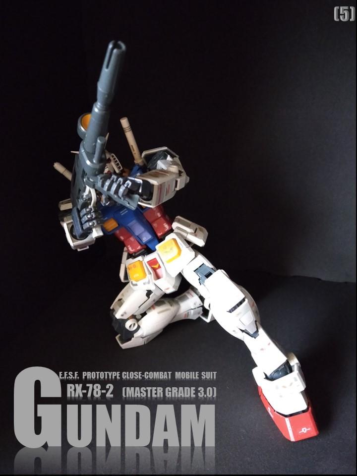 RX-78-2 GUMDAM MASTER GRADE 3.0 No1 制作工程2