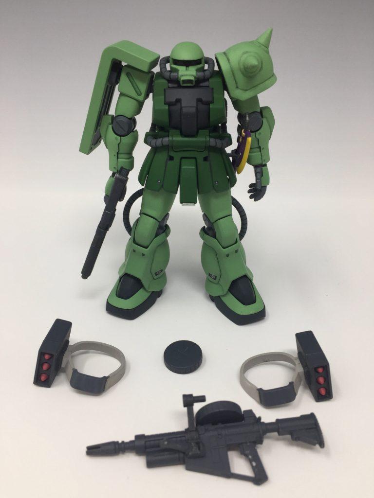 HGUC ザクII F2 ジオン軍仕様 アピールショット7