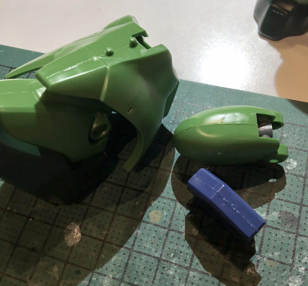 ザクⅢ改 制作工程1