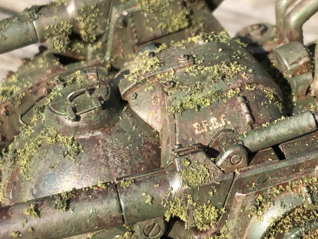 86式対MS特殊戦車 ジオラマ -postwar- アピールショット4