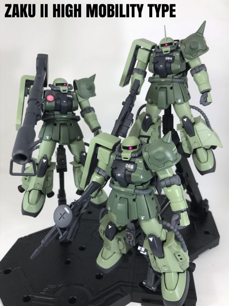 高機動型ザクⅡ