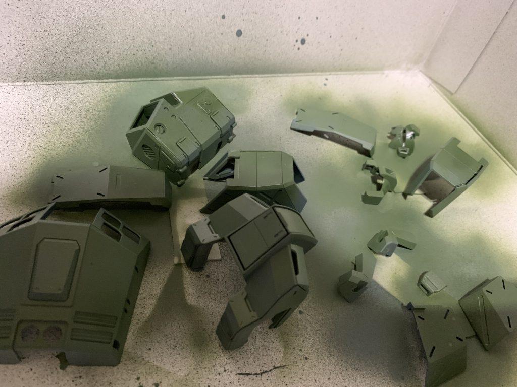 ガンダムNT-1 アレックス 制作工程3