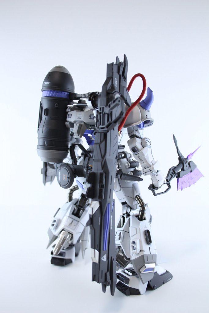 MG ガナーザクウォーリア 制作工程4