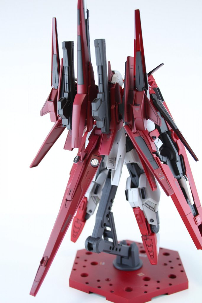 HG ガンダムAGE-FXオービタル 制作工程5