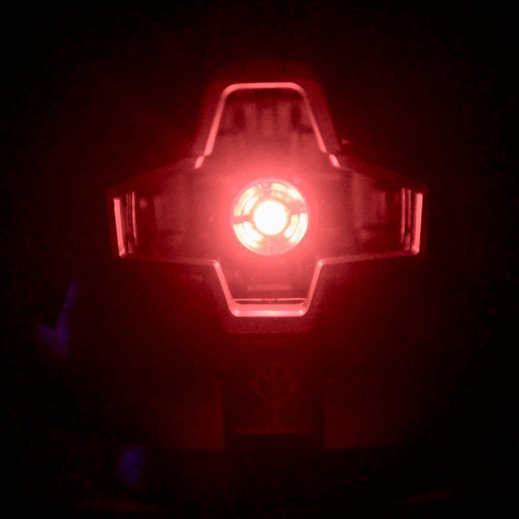 ドムヘッド 発光ギミック 鏡面塗装 制作工程4