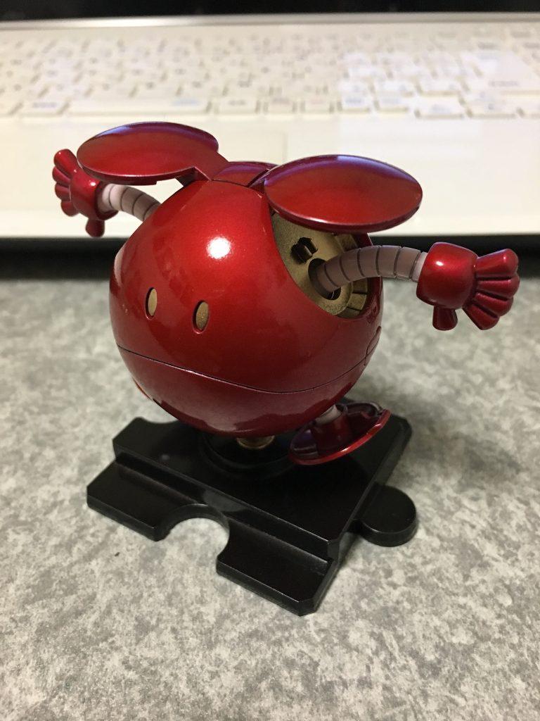 ハロ キャンディ塗装 レッド アピールショット1