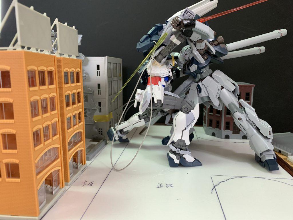 『ガンダム違い』 制作工程2